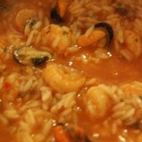 Riz aux fruits de mer – Pedra Alta