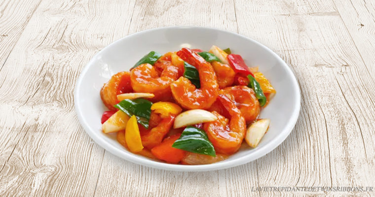 crevettes sauce aigre douce – 糖醋虾