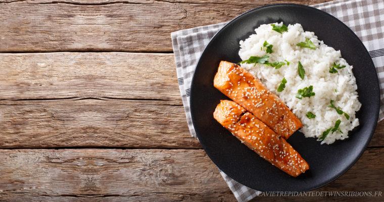 saumon teriyaki – 照り焼き鮭