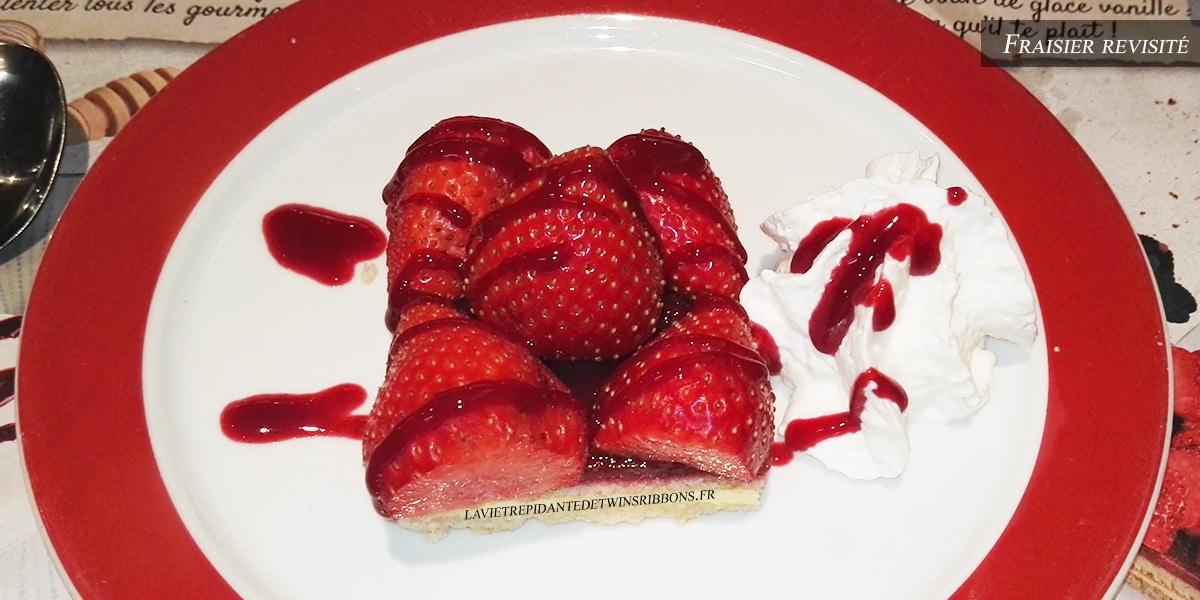 J'ai testé pour vous : le fraisier revisité de Courtepaille