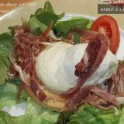 sable mousse au fromage frais – courtepaille