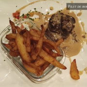 Filet de boeuf sauce roquefort – Restaurant Le 8