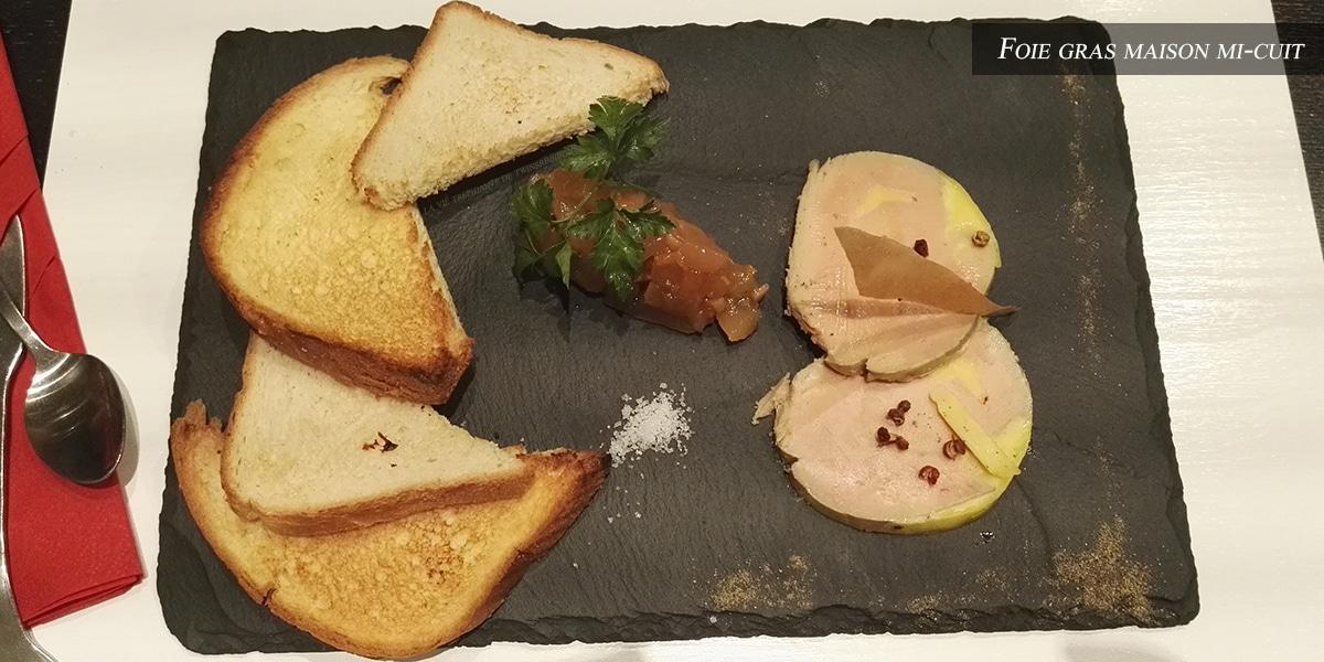J'ai testé pour vous : le foie gras maison mi-cuit – Restaurant Le 8