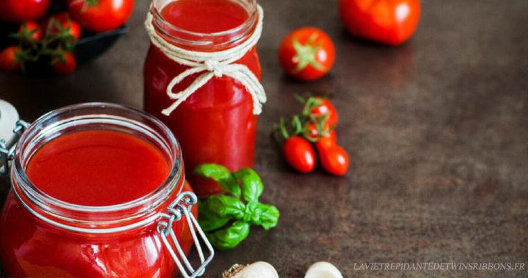 sauce ketchup maison