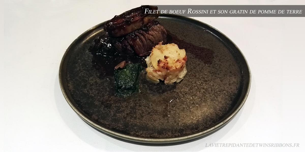 J'ai testé pour vous : le filet de bœuf Rossini – le restaurant La Bourgogne