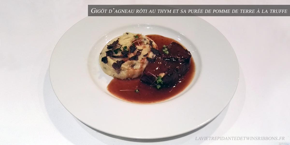 J'ai testé pour vous : le gigot d'agneau rôti au thym – le restaurant La Bourgogne
