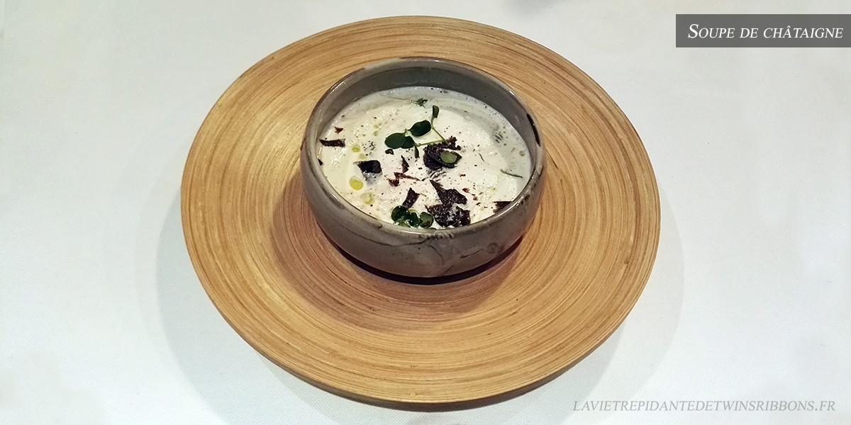 J'ai testé pour vous : la soupe de chataîgne – le restaurant La Bourgogne