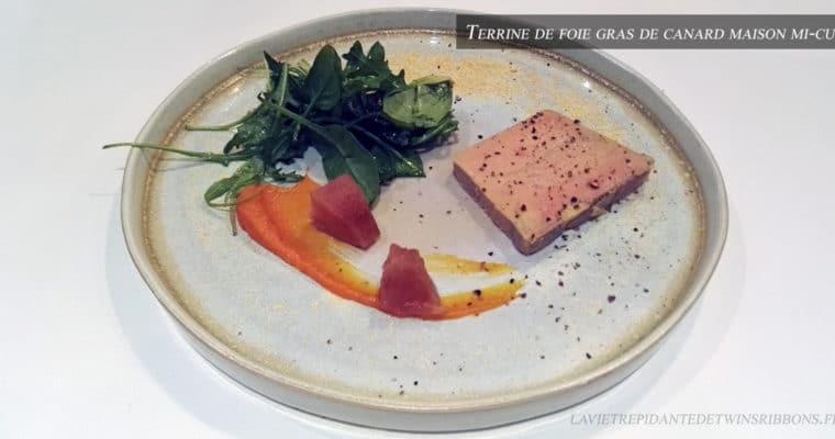 J'ai testé pour vous : le foie gras de canard maison mi-cuit – le restaurant La Bourgogne