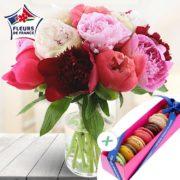 Bouquet Pivoines Gourmandes XL