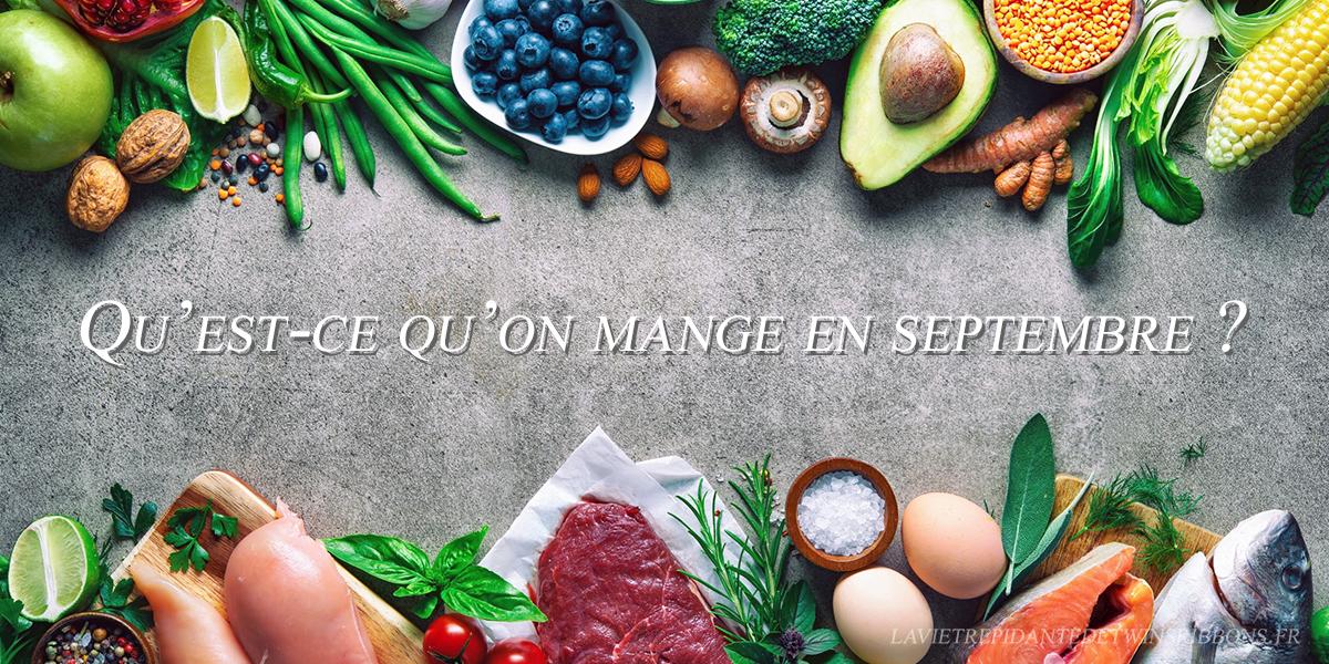 Calendrier de saison (septembre)