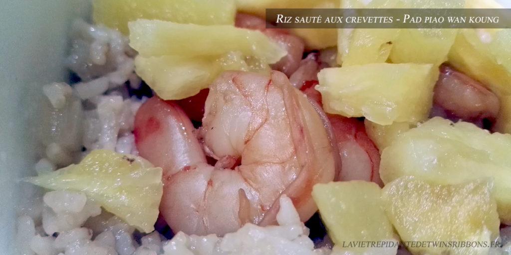 Riz sauté aux crevettes - Le petit Phuket - Pontoise - Seth Gueko
