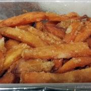 Frites de patate douce –  Afrik'n'fusion