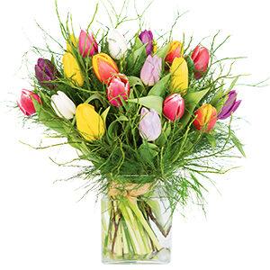 Bouquet interflora charmante tulipe