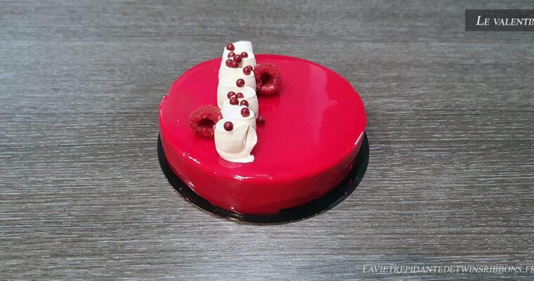 J'ai testé pour vous : le gâteau le Valentin – Boulangerie Folet – Pontoise