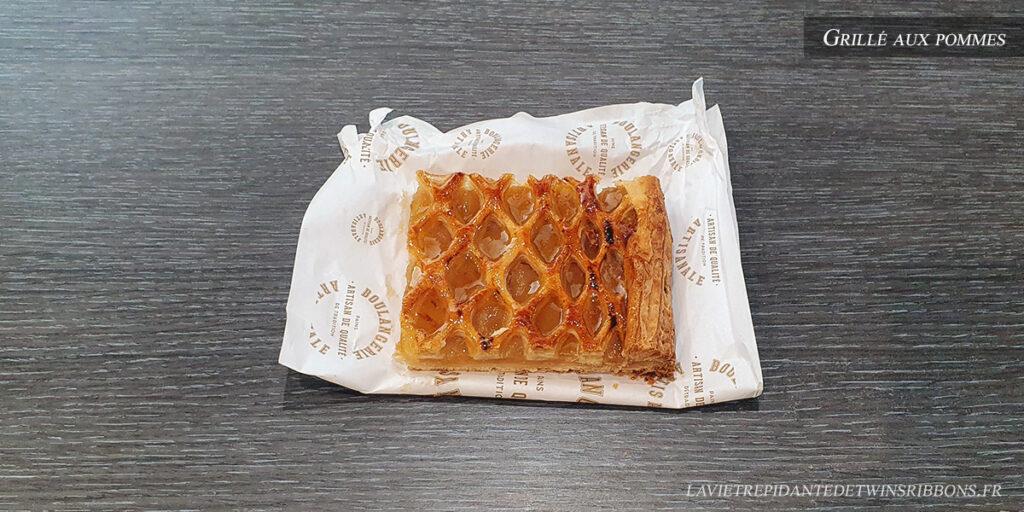 grillé aux pommes - boulangerie Folet - Pontoise