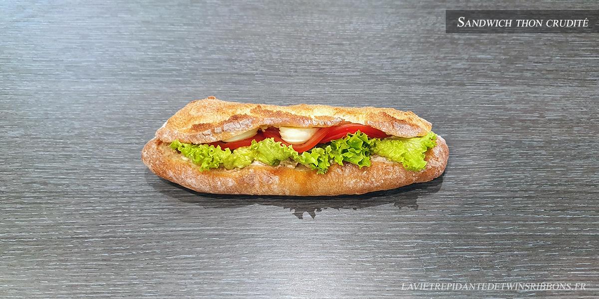 J'ai testé pour vous : le sandwich thon crudité – Boulangerie Folet – Pontoise