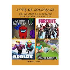 Livre coloriage jeux-vidéos