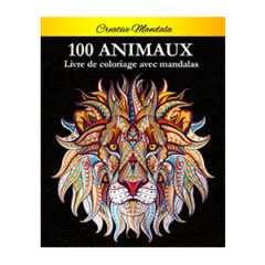 Livre coloriage mandala animaux