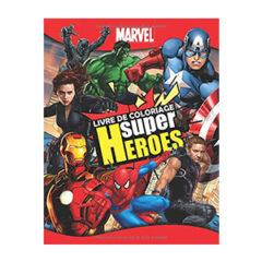 Livre coloriage Marvel pour adultes