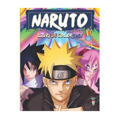 Livre coloriage Naruto adultes